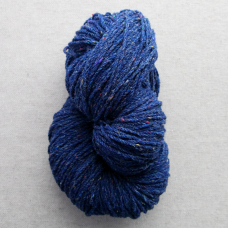 Kerry Aran Wool Blue Fleck