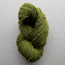 Kerry Aran Wool Lime Green