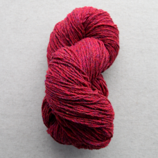 Kerry Aran Wool Raspberry Fleck